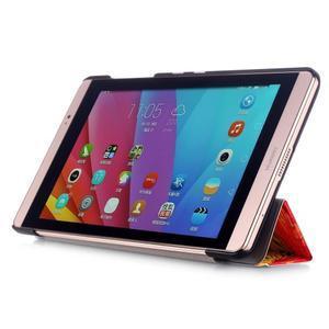 Třípolohové pouzdro na tablet Huawei MediaPad M2 8.0 - olejomalba - 4
