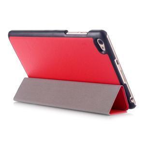 Trifold polohovatelné puzdro na tablet Huawei MediaPad M2 8.0 - červené - 4
