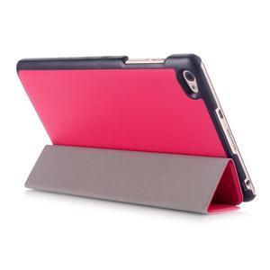 Trifold polohovateľné puzdro na tablet Huawei MediaPad M2 8.0 - rosa - 4