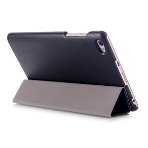 Trifold polohovatelné puzdro na tablet Huawei MediaPad M2 8.0 - čierné - 4