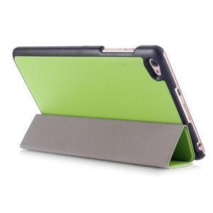 Trifold polohovatelné puzdro na tablet Huawei MediaPad M2 8.0 - zelené - 4