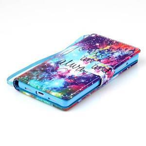 Picture PU kožené pouzdro na Huawei P8 Lite - navždy a vždy - 4