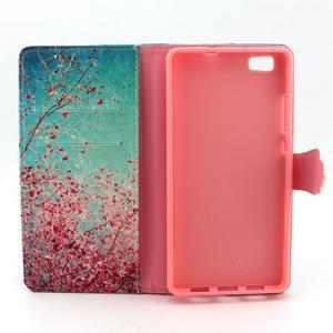 Emotive pouzdro na mobil Huawei P8 Lite - kvetoucí švestka - 4