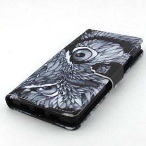 Emotive pouzdro na mobil Huawei P8 Lite - sova - 4