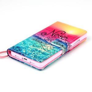 Picture PU kožené puzdro na Huawei P8 Lite - neprestávaj snívať - 4