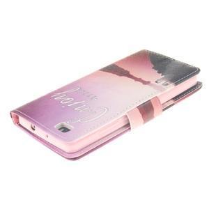 Leathy PU kožené pouzdro na Huawei P8 Lite - užívej - 4