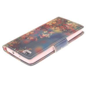Leathy PU kožené pouzdro na Huawei P8 Lite - podzimní zátiší - 4