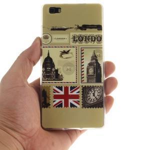 Flexi gelový obal na mobil Huawei P8 Lite - Velká Británie - 4