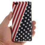 Flexi gelový obal na mobil Huawei P8 Lite - US vlajka - 4/5