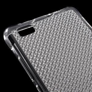 Diamonds gelový obal na Huawei P8 Lite - transparentní - 4