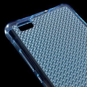 Diamonds gelový obal na Huawei P8 Lite - modrý - 4