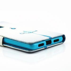 Knížkové pouzdro na mobil Huawei P9 Lite - kapky vody - 4