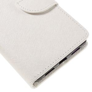 Easy peněženkové pouzdro na mobil Huawei P9 Lite - bílé - 4