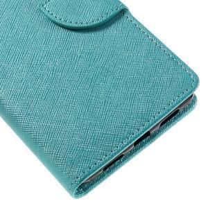 Easy peňaženkové puzdro na mobil Huawei P9 Lite - modré - 4