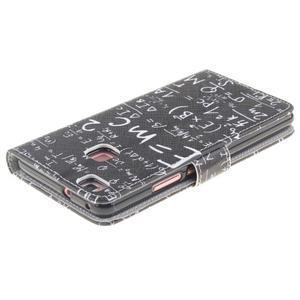 Knížkové PU kožené pouzdro na Huawei P9 Lite - vzorečky - 4