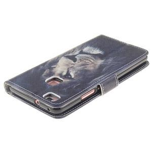 Floaty peněženkové pouzdro na mobil Huawei P9 Lite - lev - 4