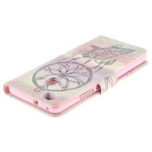 Floaty peněženkové pouzdro na mobil Huawei P9 Lite - lapač snů - 4