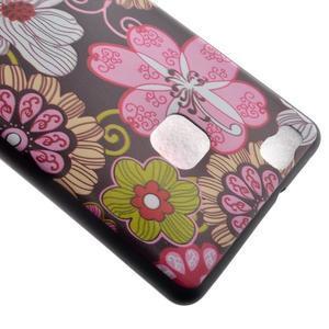 Softy gelový obal na mobil Huawei P9 Lite - květiny - 4
