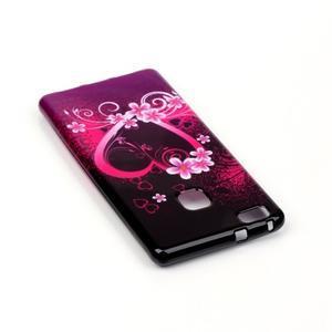 Emotive gelový obal na mobil Huawei P9 Lite - srdce - 4