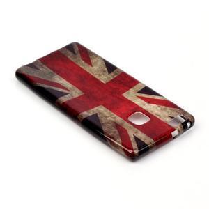 Emotive gelový obal na mobil Huawei P9 Lite - UK vlajka - 4