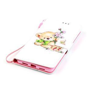 Emotive pouzdro na mobil Huawei P9 Lite - medvídek - 4