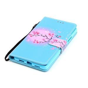 Emotive pouzdro na mobil Huawei P9 Lite - květoucí svěstka - 4