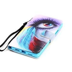 Emotive pouzdro na mobil Huawei P9 Lite - barevné oko - 4