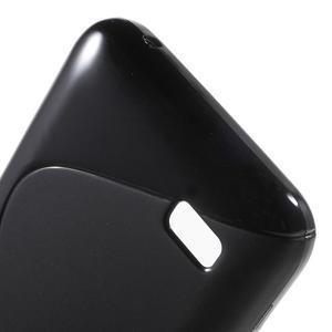S-line gelový obal na mobil Huawei Y5 a Y560 - černý - 4