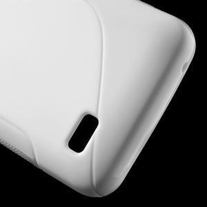 S-line gelový obal na mobil Huawei Y5 a Y560 - bílý - 4