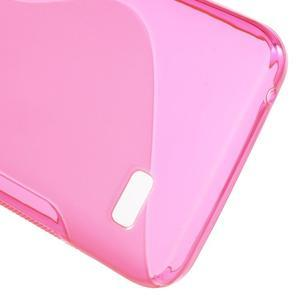 S-line gelový obal na mobil Huawei Y5 a Y560 - rose - 4