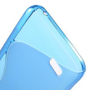 S-line gelový obal na mobil Huawei Y5 a Y560 - modrý - 4