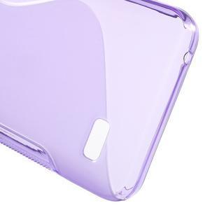 S-line gelový obal na mobil Huawei Y5 a Y560 - fialový - 4