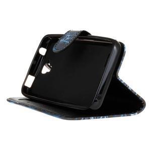 Štýlové peňaženkové puzdro na Huawei Y5 a Y560 - žirafia mafia - 4