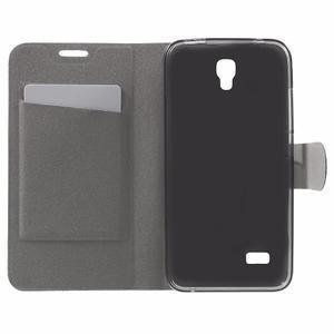 Horse peněženkové pouzdro na mobil Huawei Y5 a Y560 - hnědé - 4