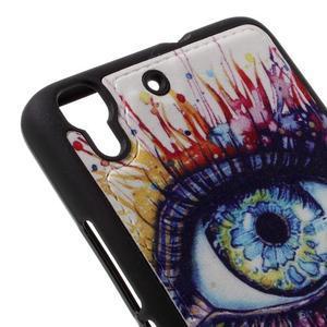 Sally gelový obal na mobil Huawei Y6 - oko barev - 4