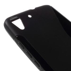 S-line gelový obal na mobil Huawei Y6 - černý - 4