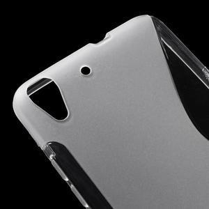 S-line gelový obal na mobil Huawei Y6 - transparentní - 4