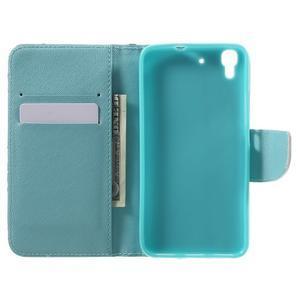 Emotive pouzdro na mobil Huawei Y6 - modrý motýl - 4