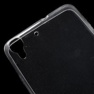 Ultratenký slimový obal na mobil Huawei Y6 - transparentní - 4