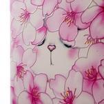 Softy gelový obal na mobil Huawei Y6 - květy svěstky - 4/6