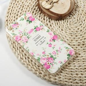 Softy gelový obal na mobil Huawei Y6 - pivoňky - 4