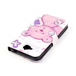 Knížkové pouzdro na mobil Huawei Y6 Pro - medvídek - 4