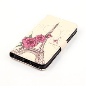 Knížkové pouzdro na mobil Huawei Y6 Pro - Eiffelova věž - 4