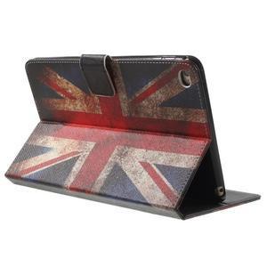Štýlové puzdro pre iPad mini 4 - UK vlajka - 4