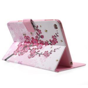 Stylové pouzdro na iPad mini 4 - kvetoucí větvička - 4