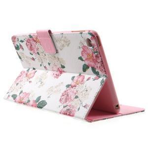 Štýlové puzdro pre iPad mini 4 - kvetiny - 4