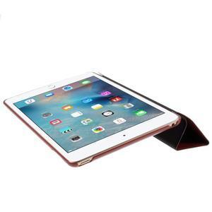 Origami polhovatelné pouzdro na iPad mini 4 - hnědé - 4