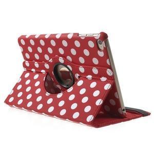 Cyrc otočné puzdro pre iPad mini 4 - červené - 4