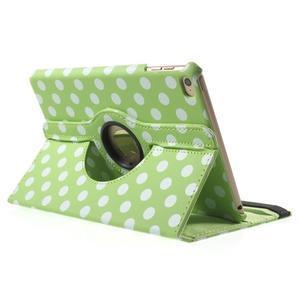Cyrc otočné puzdro pre iPad mini 4 - zelené - 4