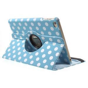 Cyrc otočné puzdro pre iPad mini 4 - svetlo modré - 4